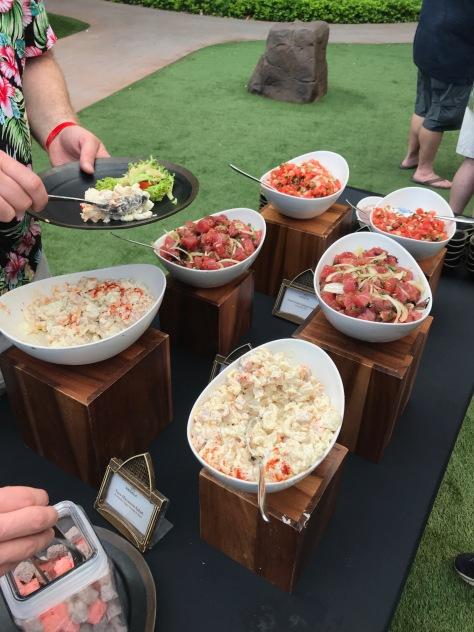 Aulani salads