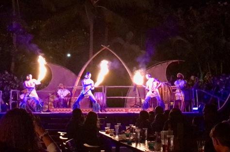 Aulani Fire Dancers