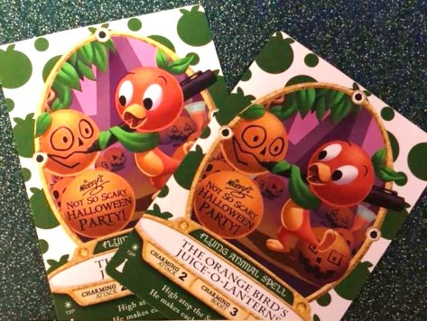 Orange Bird card