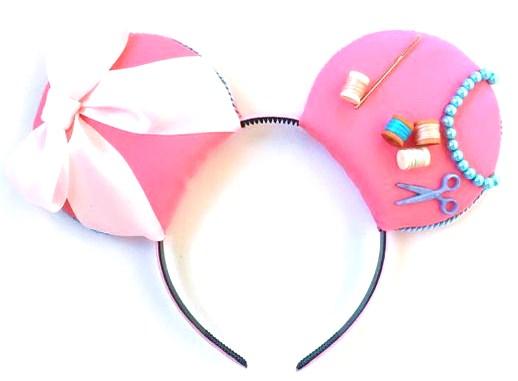 Pink Cinderella ears