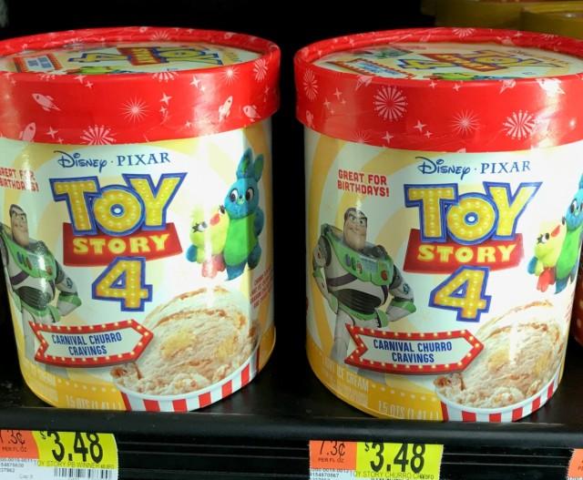 toy story 4 ice cream