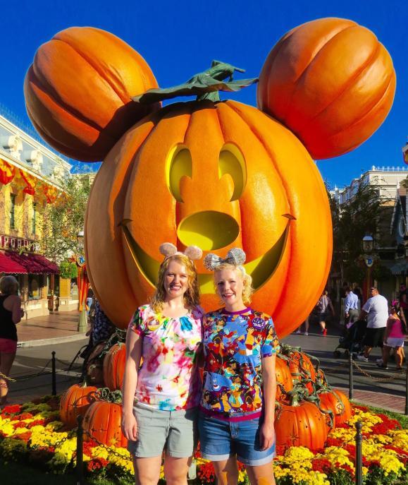 dlr Halloween Pumpkin Disneyland teo