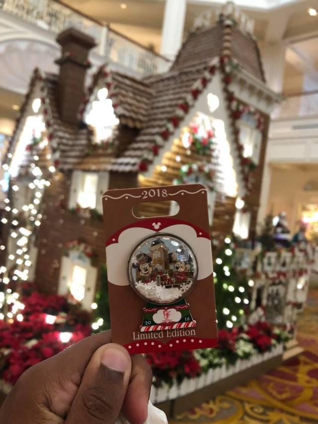 2018 GF Gingerbread House Pin