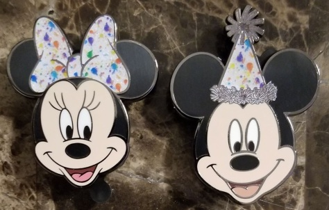 Mickey 90th pins