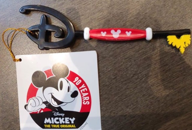 Mickey Disney Key