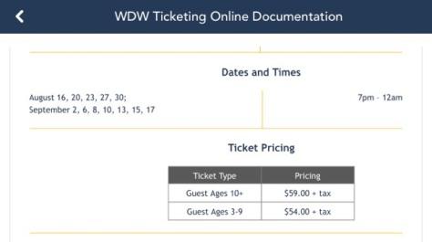 MNSSHP Tickets