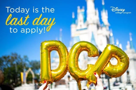 DCP last day