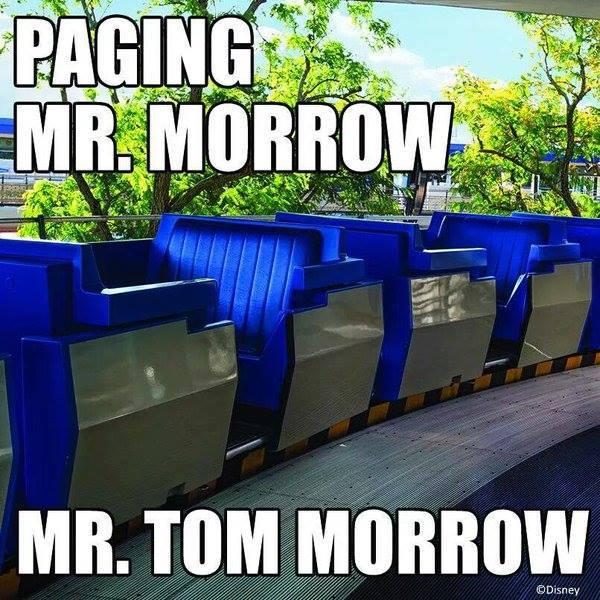 mr Morrow  Tomorrowland People Mover