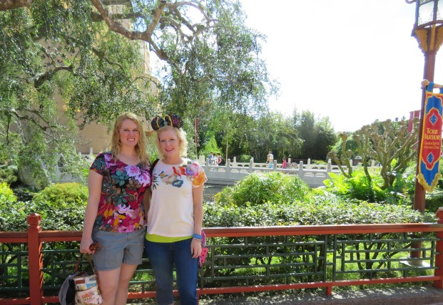 epcot two sisters