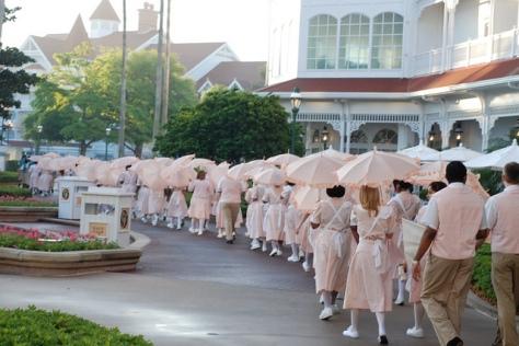Grand Floridian parade