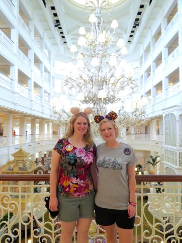 grand Floridian two disney sisters