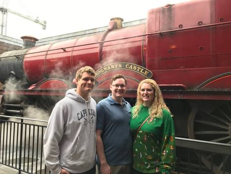 Harry Potter World train