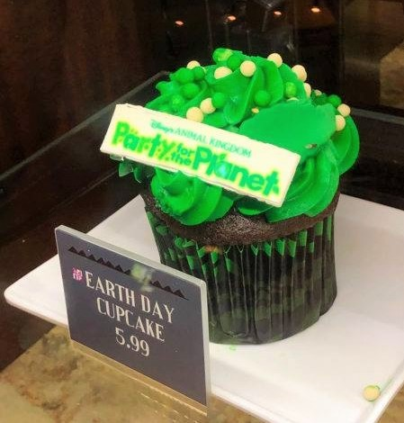 earth day cupcake DAK