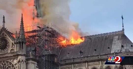 fire Paris fire