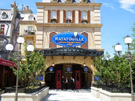 Ratatouille Ride Paris France