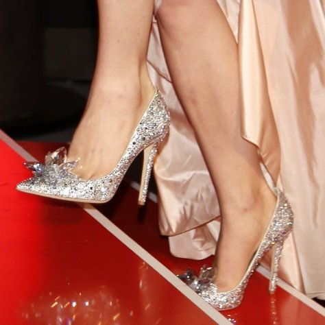 Lily-James Cinderella Shoes