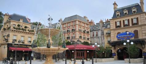 ratatouille fountain