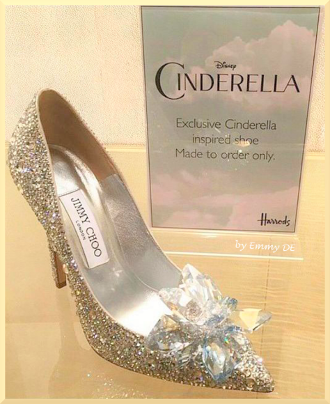 Cinderella Shoes Jimmy Choo