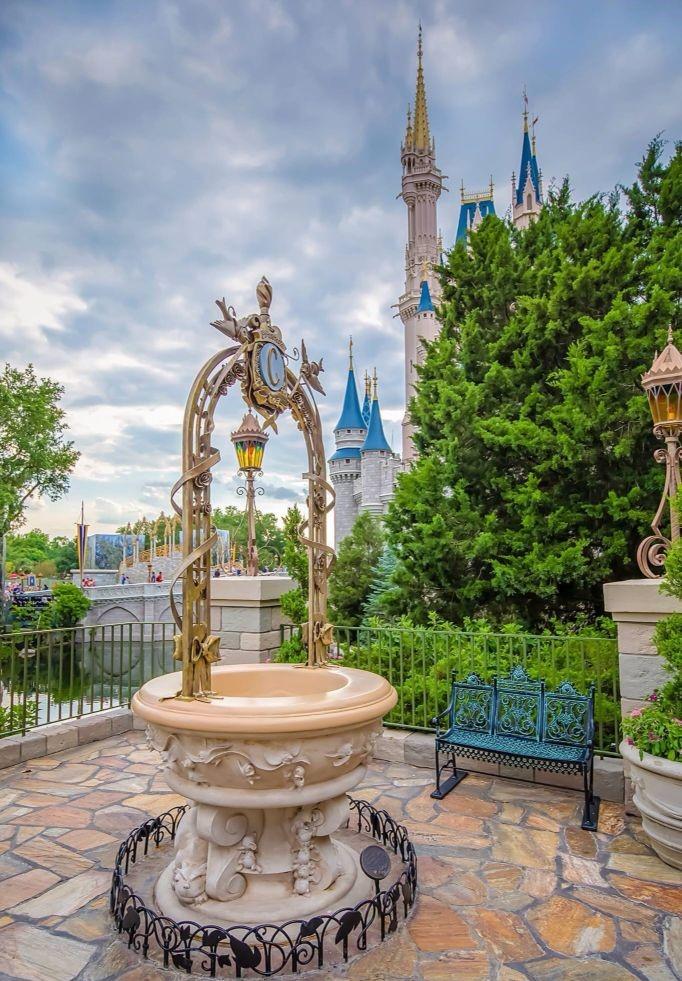 Cinderella Wishing Well