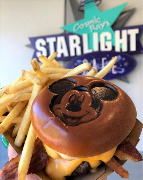 Mickey cheeseburger