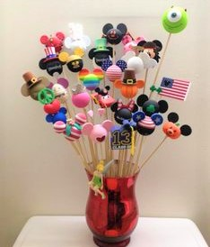 disney car antenna topper bouquet