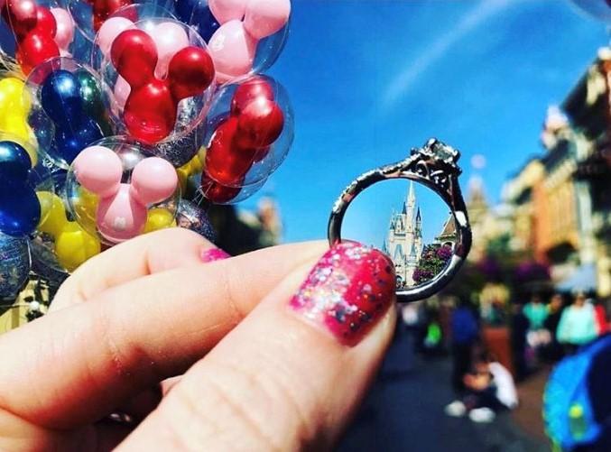 ellys-ring-selfie1 Disney ring