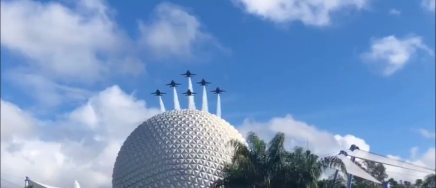 epcot blue angels