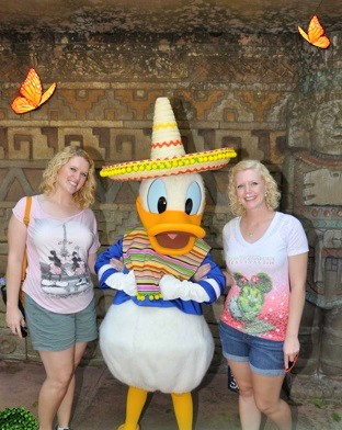 Epcot Donald Mexico