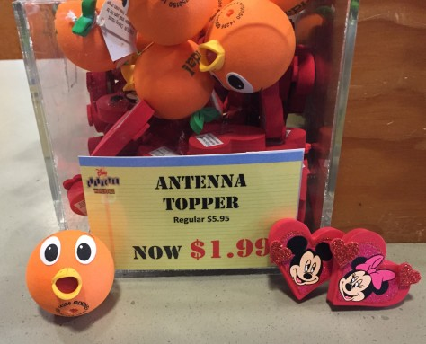 orange bird antenna car topper
