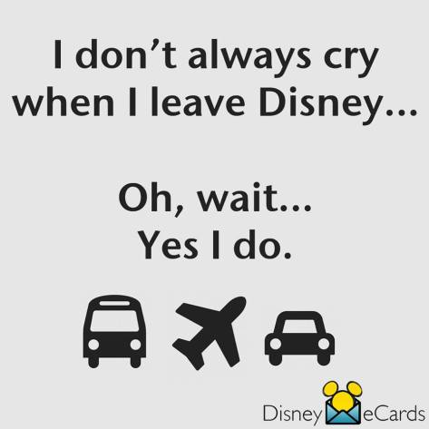 disney cry