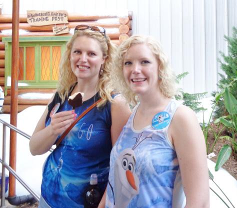 frozen Two Disney Sisters