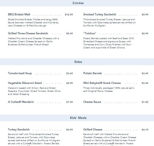 woodys lunch box menu1