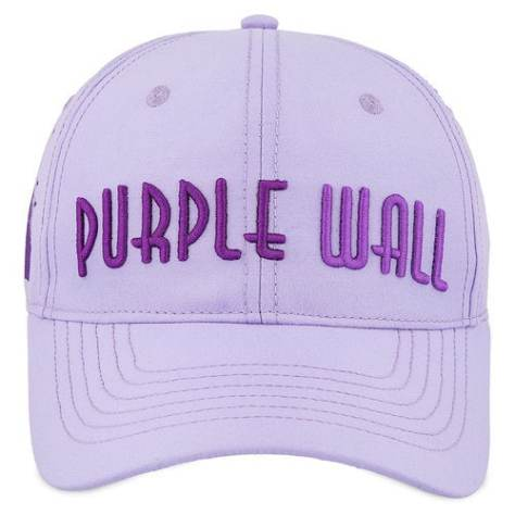 purple wall ballcap