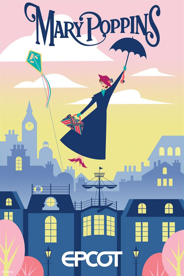 epcot Mary Poppins