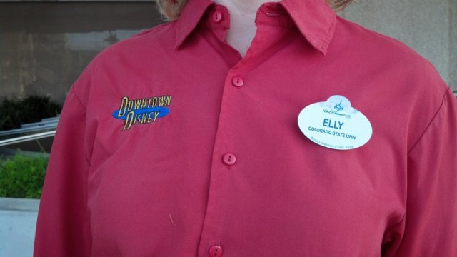 name tag costume Pin Traders
