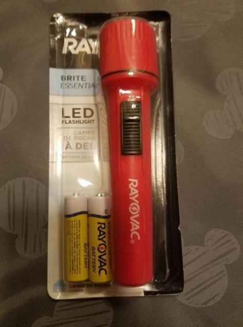 hurricane flashlight