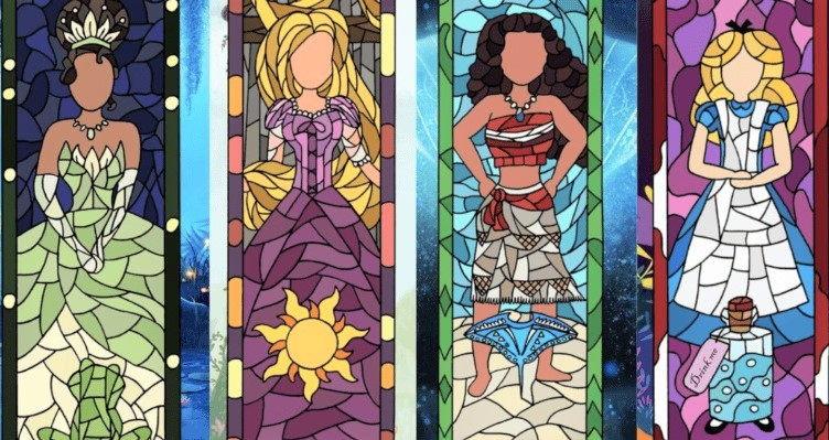 princess stained glass