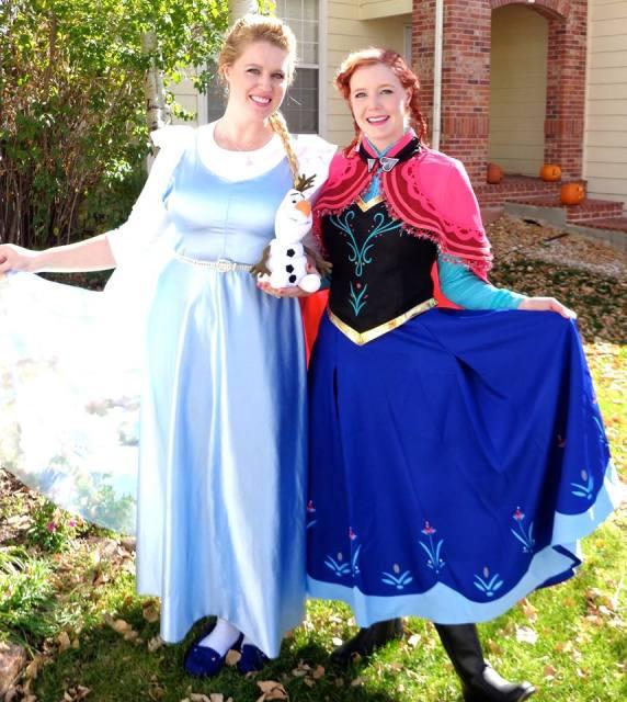 elsa and anna1 Frozen