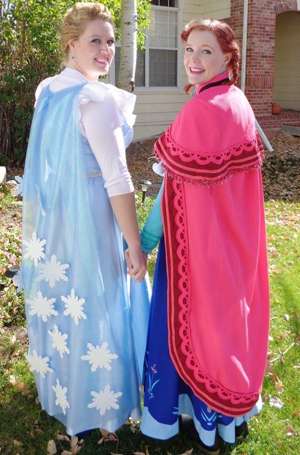 elsa and anna2 Frozen