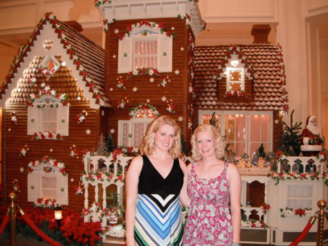 two disney sisters gingerbread