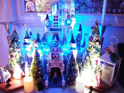 Cinderella Castle Lego castle night