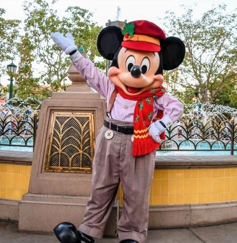 Christmas Mickey CAL