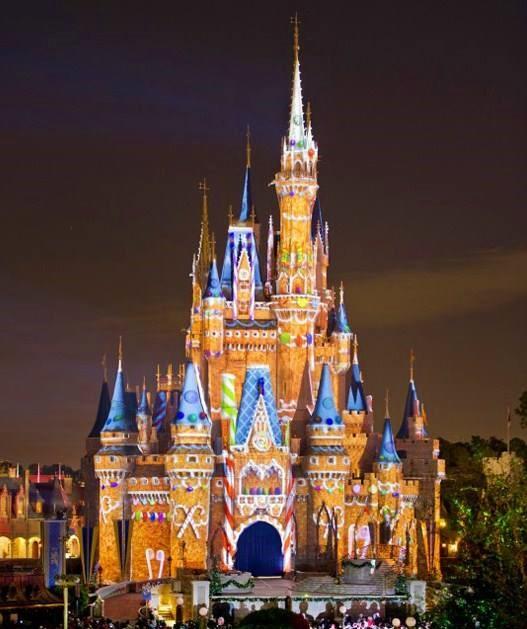 gingerbread cinderella castle