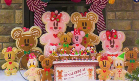 Disney Gingerbread Toys