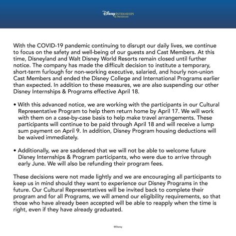 DCP Fall Advantage cancelled