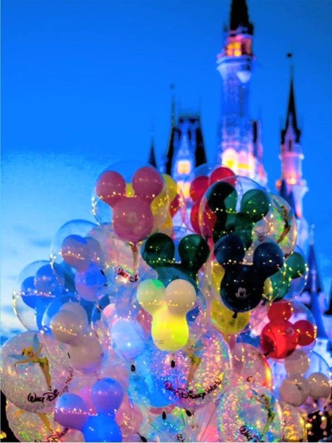 magic kingdom balloons
