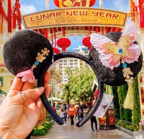 Minnie Ears Lunar Year