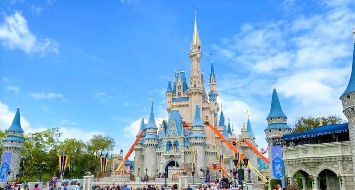 Cinderella-Castle-Construction