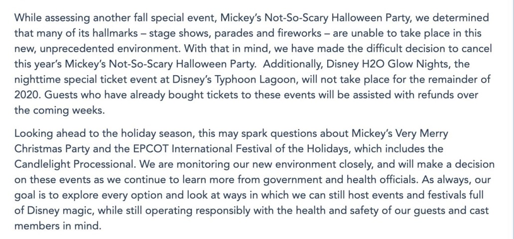 MNSSHP Canceled